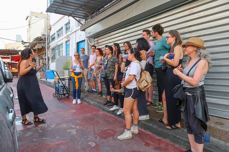 Bhuka Tours Food Tour of Carmel Market Tel Aviv