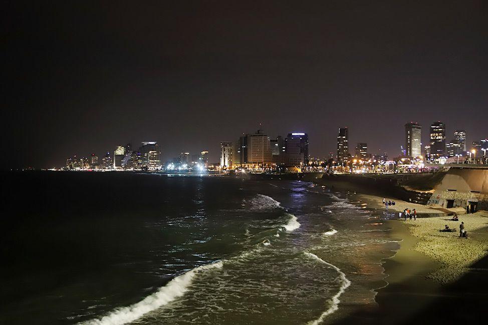 Jaffa at Night, Tel Aviv