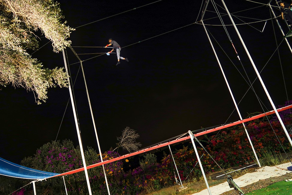 The Hebrew Flying Trapeze