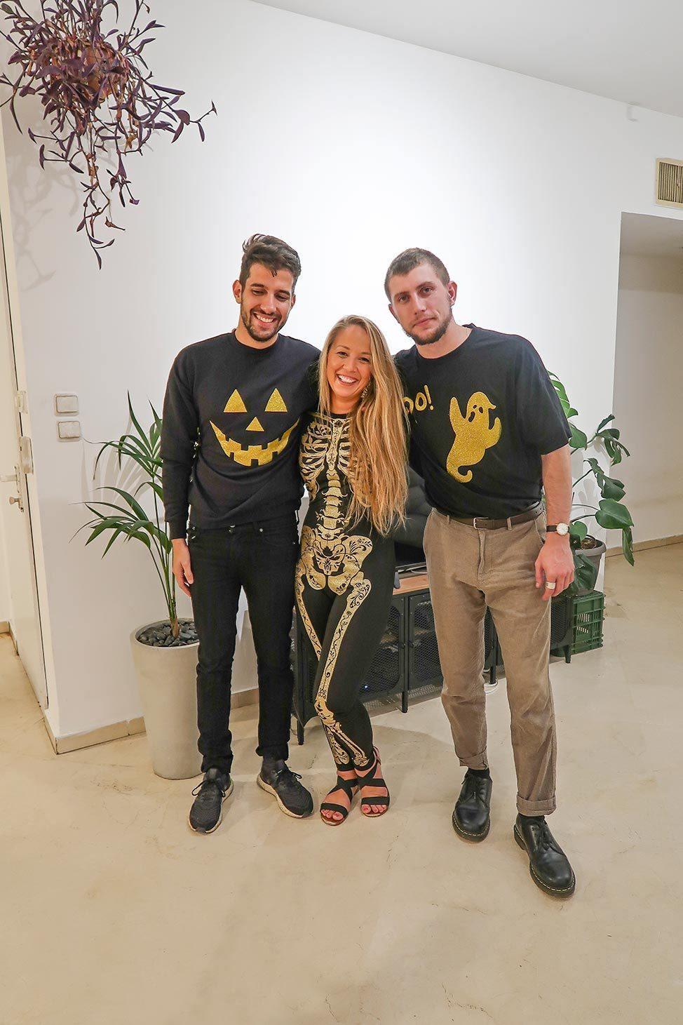 Halloween in Tel Aviv