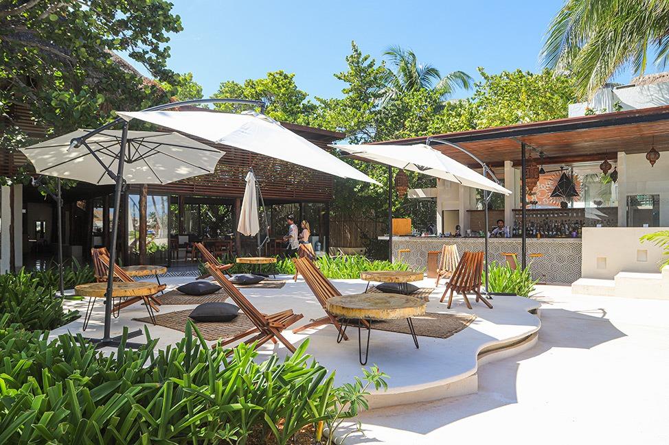 Guru Beach Club, Isla Mujeres, Mexico