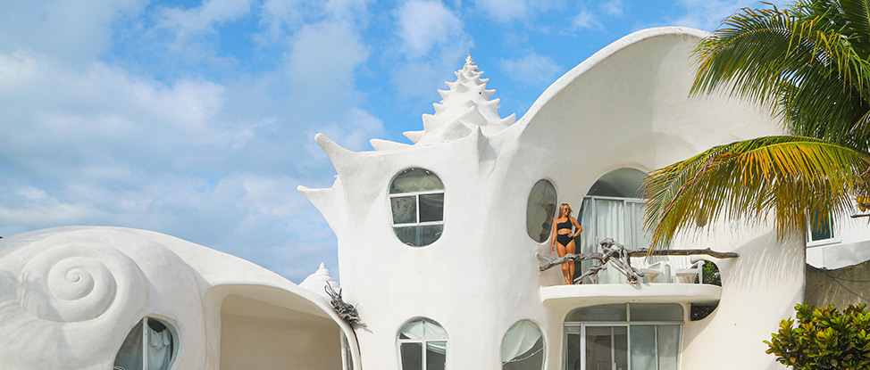 What It's Like to Stay at the World Famous Seashell House in Isla Mujeres thumbnail