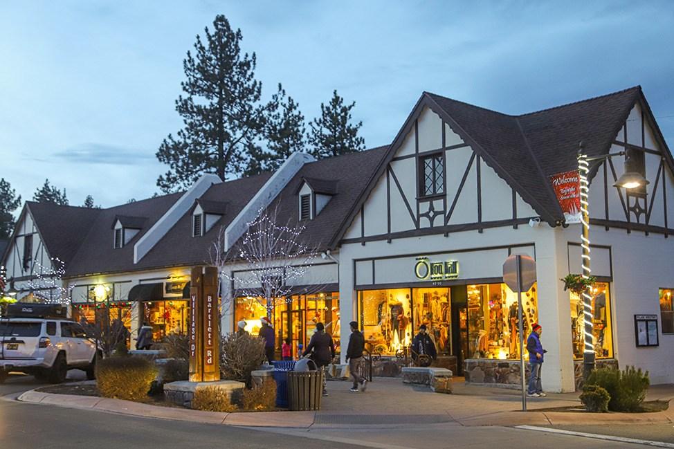 Big Bear Village, California