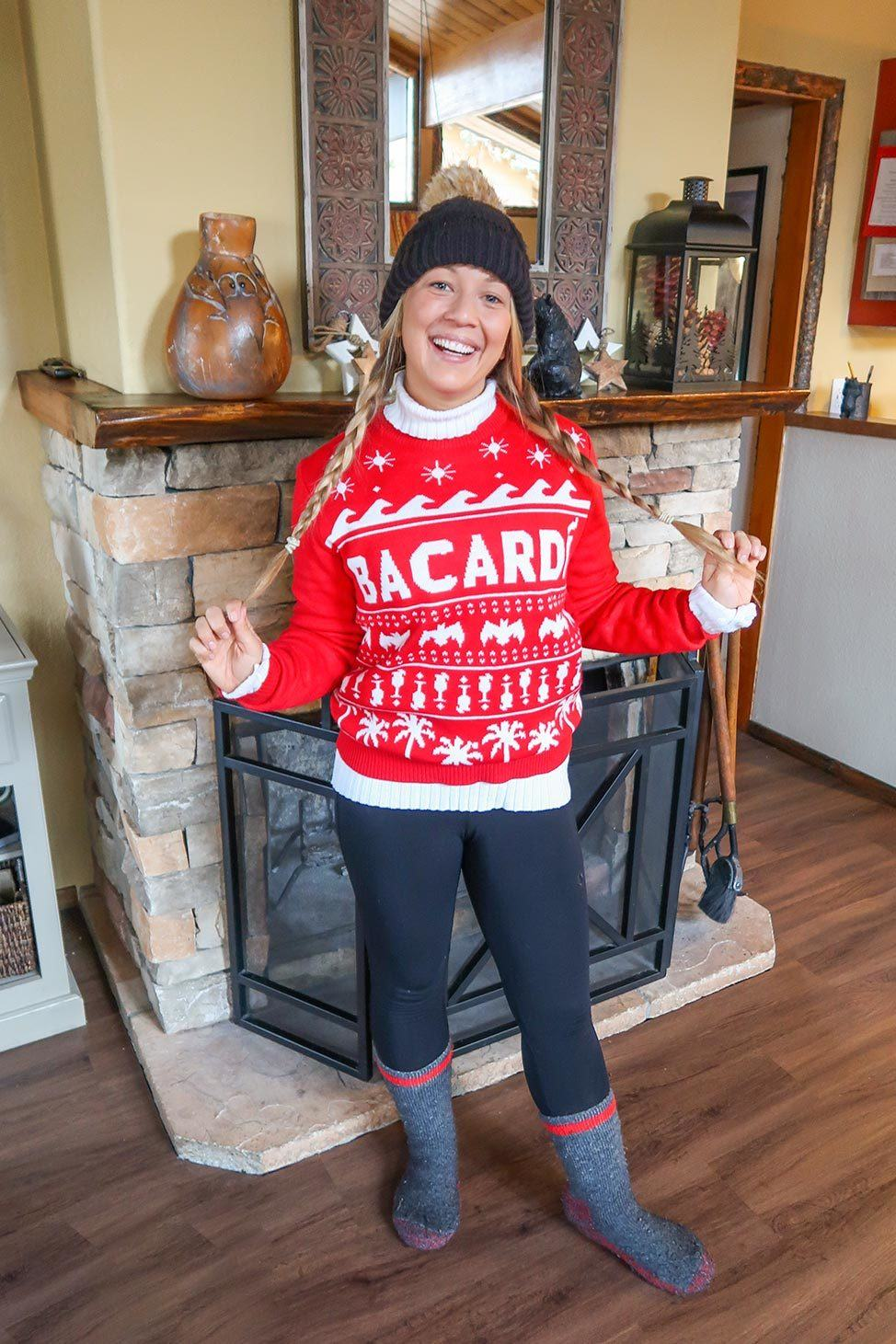 Bacardi Christmas Sweater