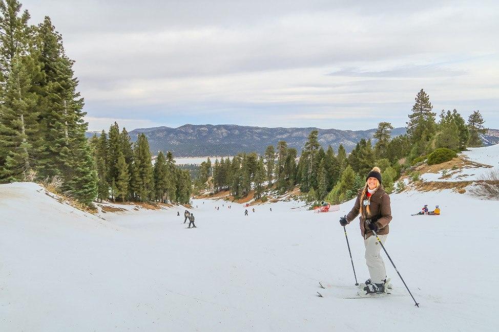 Snow Summit Ski Resort, Big Bear, California