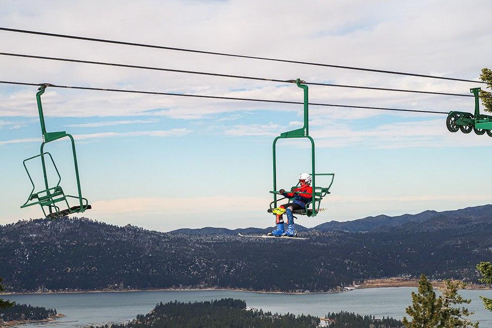 Snow Summit Ski Resort, Big Bear, CaliforniaSnow Summit Ski Resort, Big Bear, California