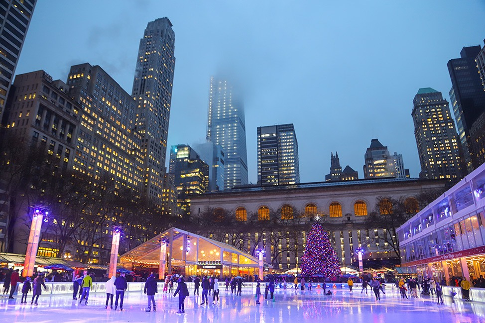 New York City in December