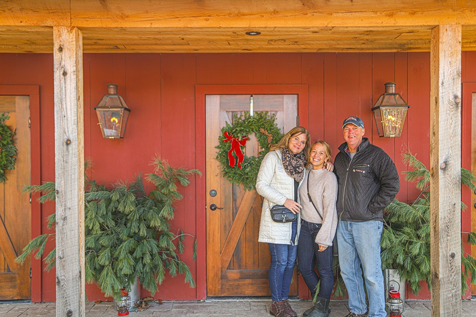 Christmas at June Farms, New York