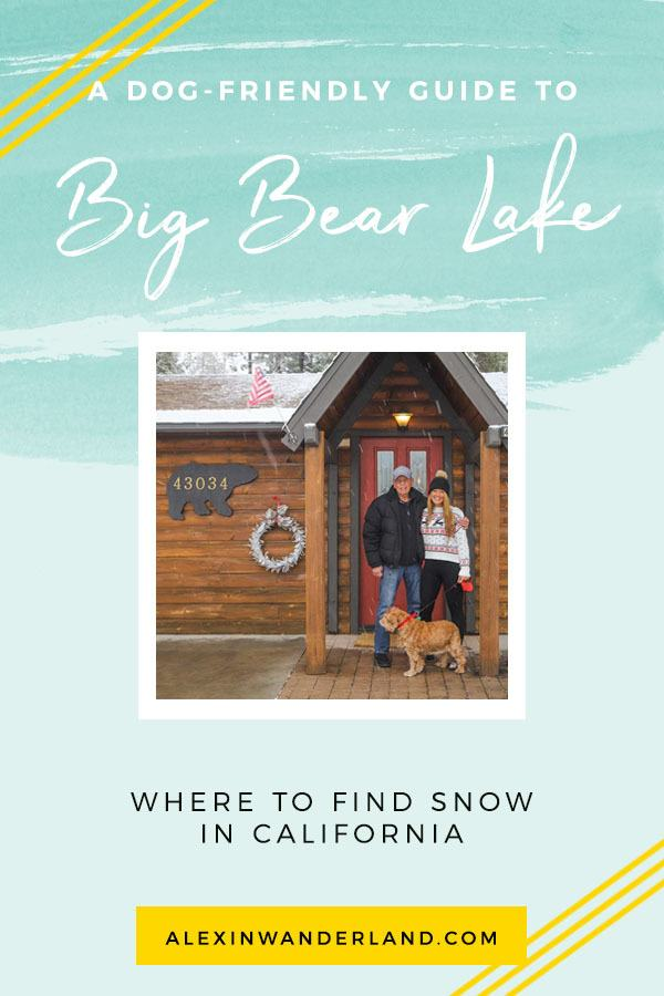 A winter guide to Big Bear Lake, California   skiing big bear lake, big bear lake travel