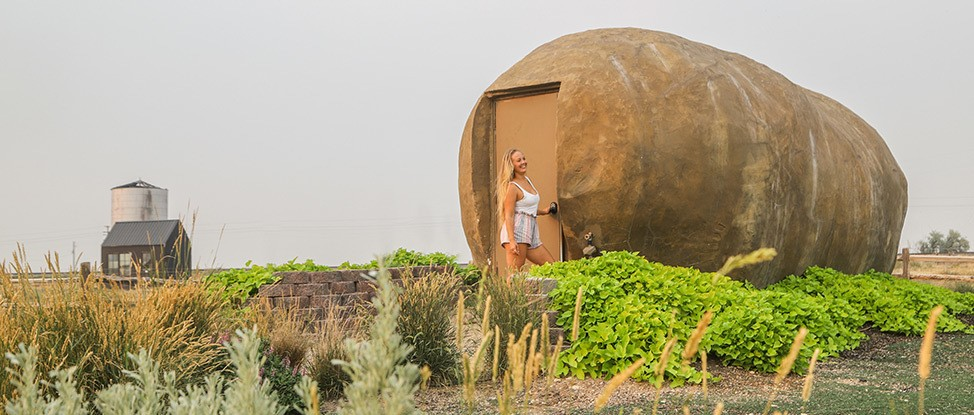 Staying In Idaho's Most Famous Spud: The Big Potato Hotel thumbnail