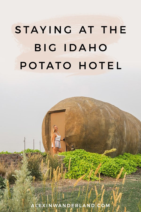 What it's like to stay at the Big Idaho Potato Hotel!   giant potato, potato hotel idaho, boise idaho, potato airbnb