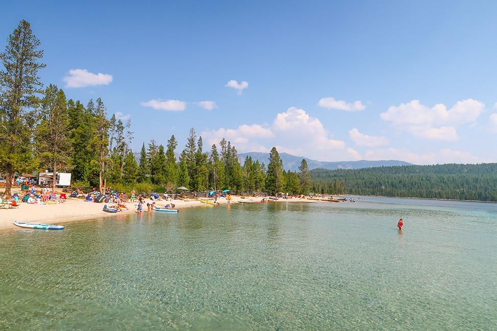 Redfish Lake SUP, Stanley, Idaho