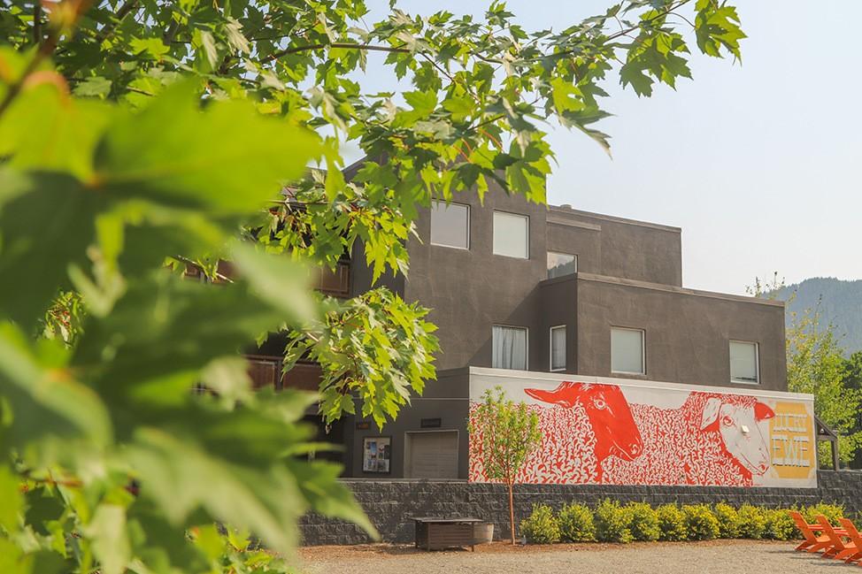 Hotel Ketchum Murals