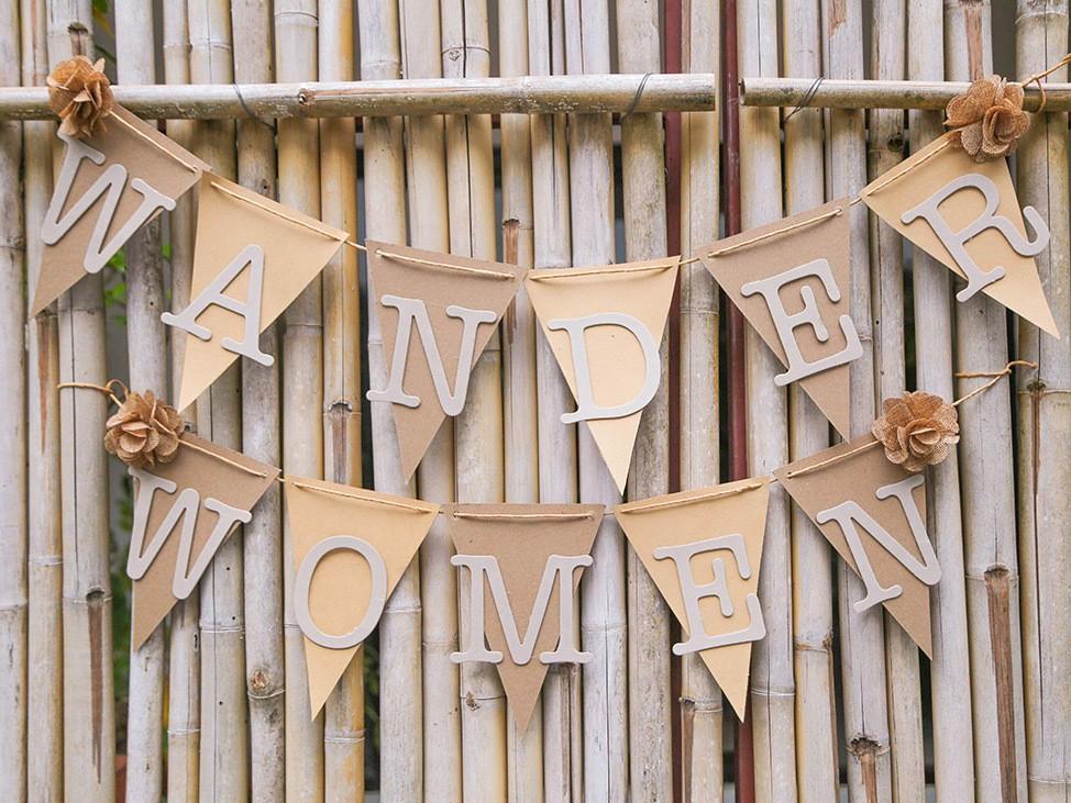 Wander Women Virtual Retreat cute party decor