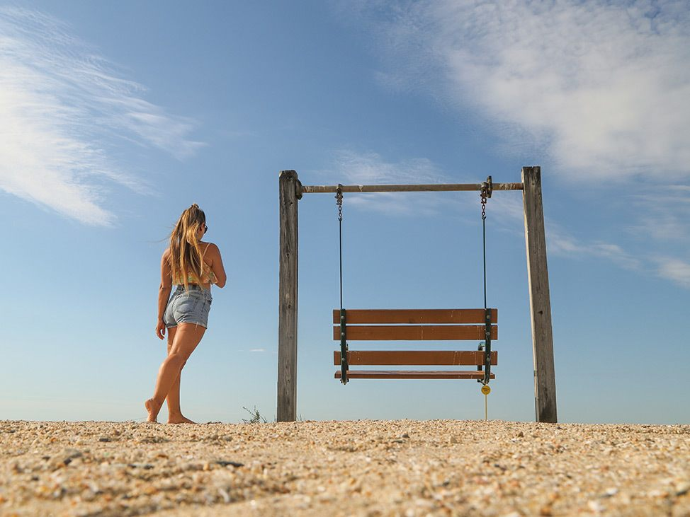 Wander Women Virtual Retreat walking on beach