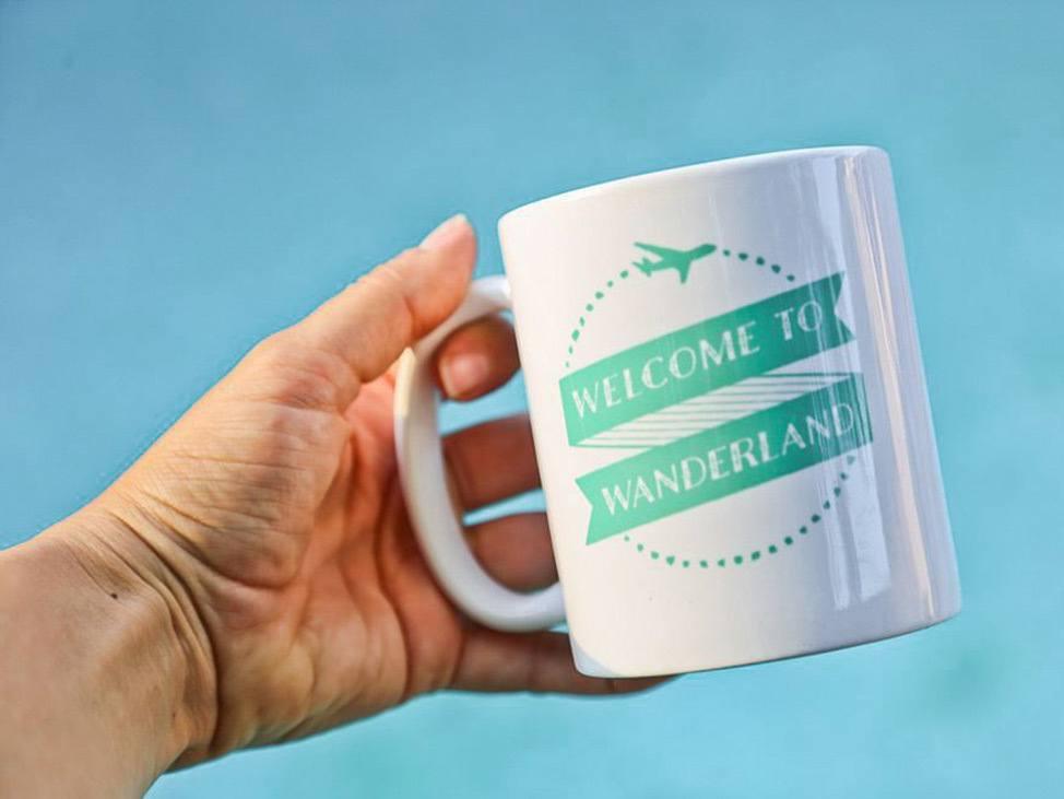 Wander Women Virtual Retreat cute brand coffee mug