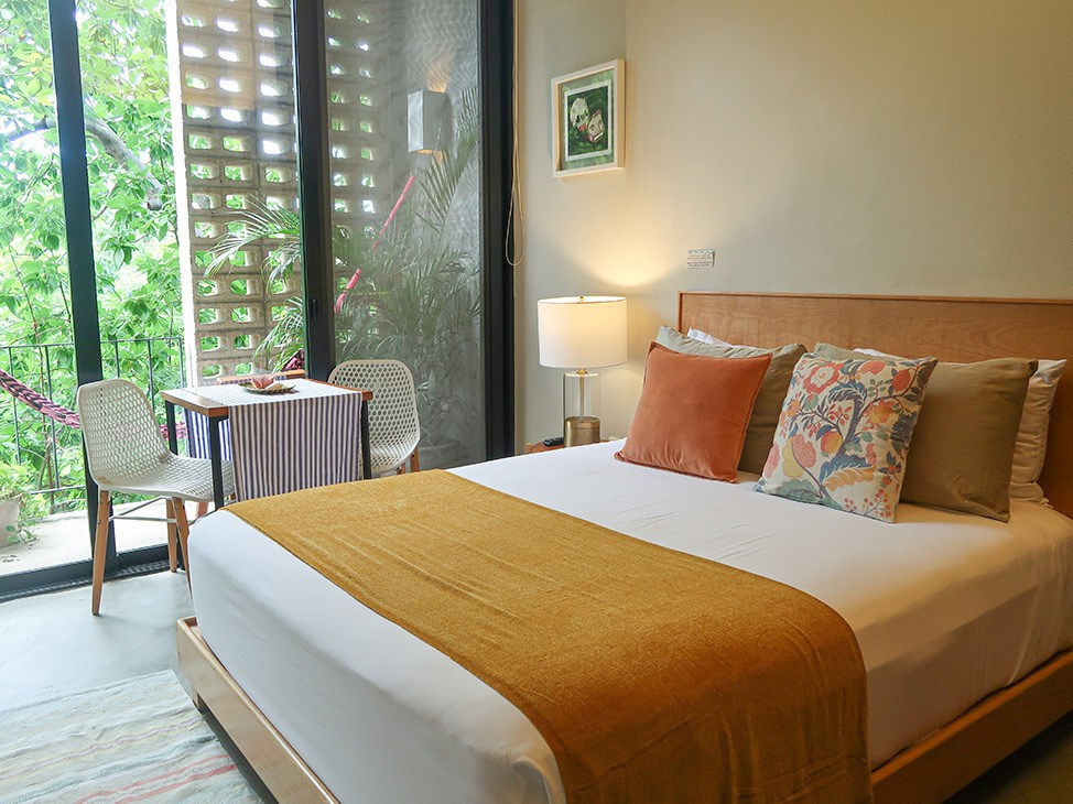 Wander Women Virtual Retreat bright and colorful hotel