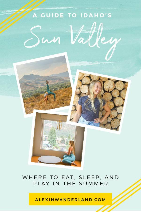 What to do in Sun Valley, Idaho in the summer! | sun valley idaho, sun valley trip, things to do in sun valley, idaho places to visit
