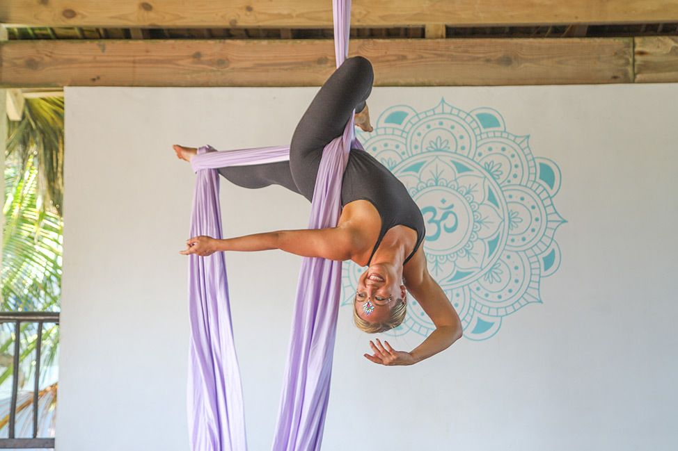 Aerial Silks Photoshoot in the Dominican Republic