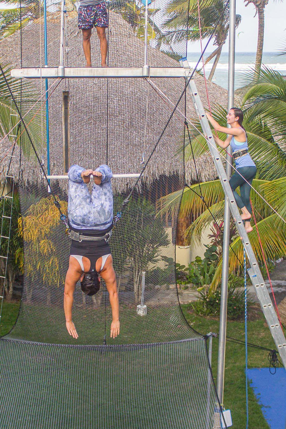 Trapeze Retreat in Dominican Republic