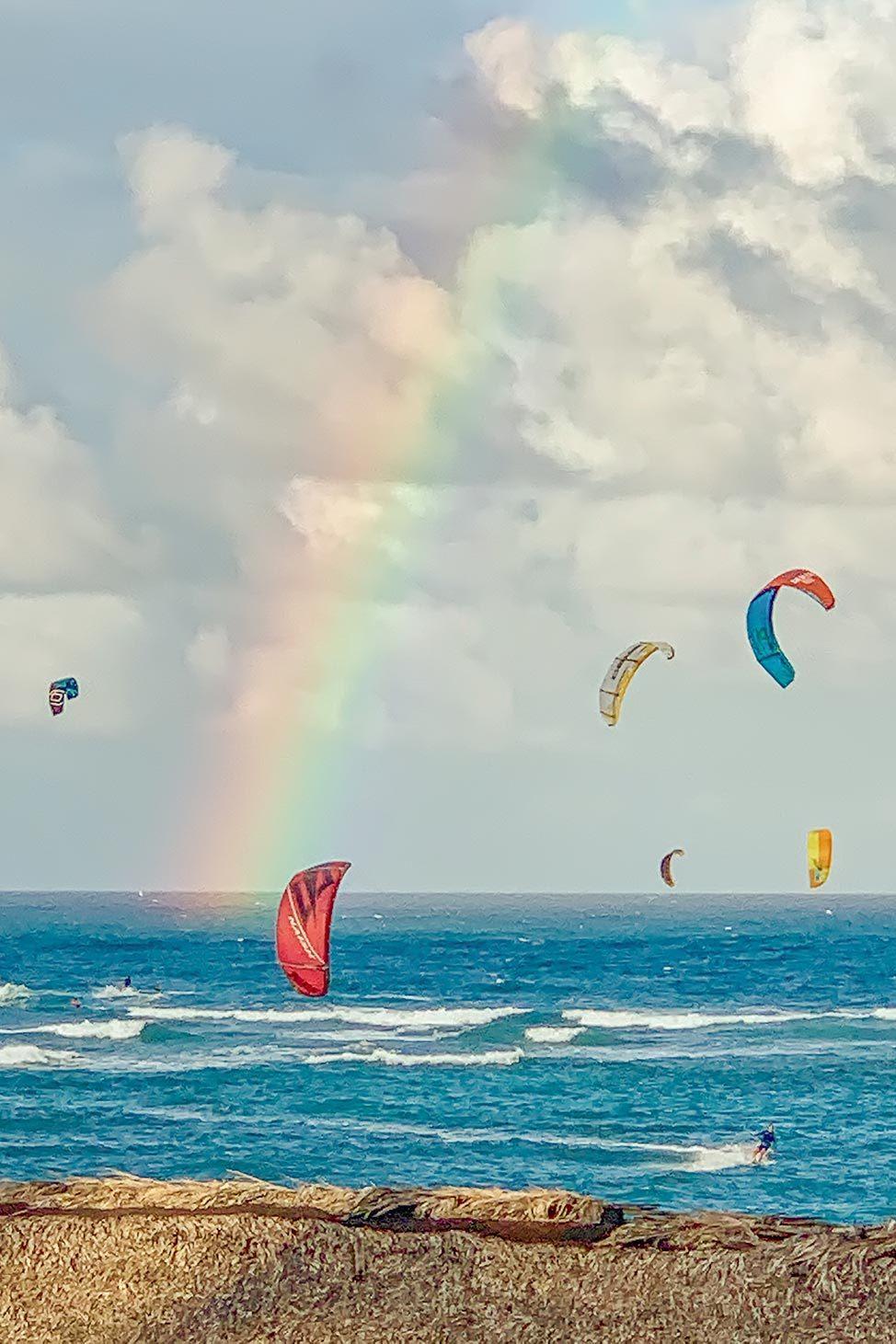 Rainbow on Kite Beach, Cabarete