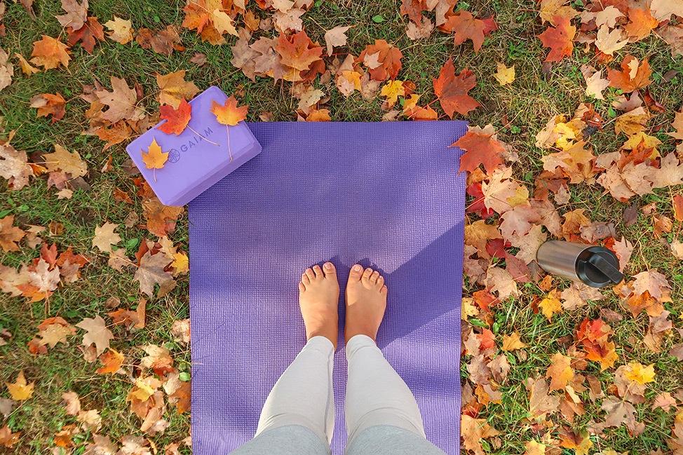 Yoga at Keuka Peaceful Roots