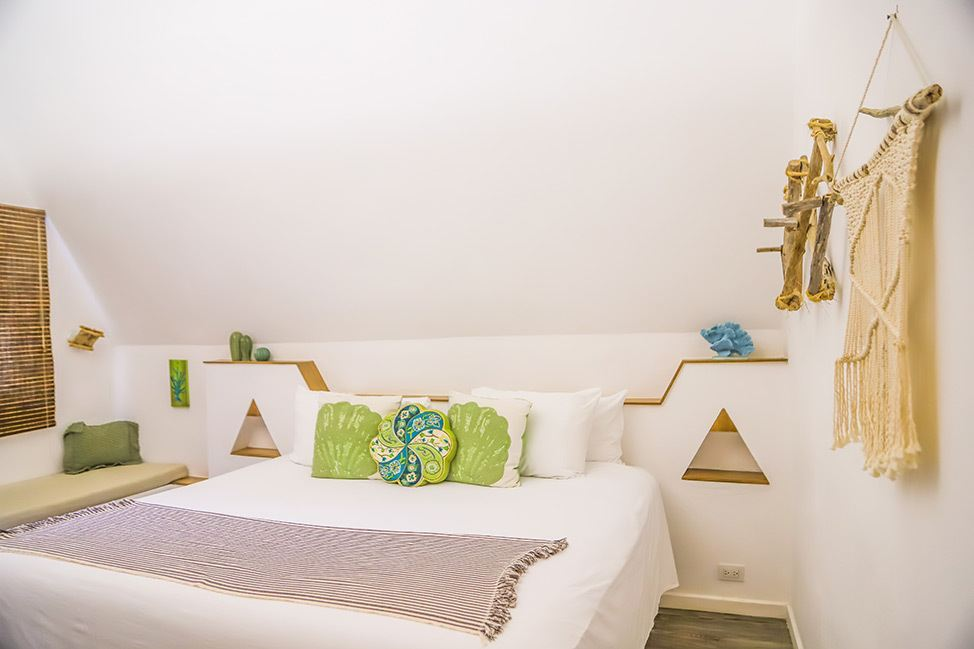 Room at Punta Rucia Lodge in the Dominican Republic