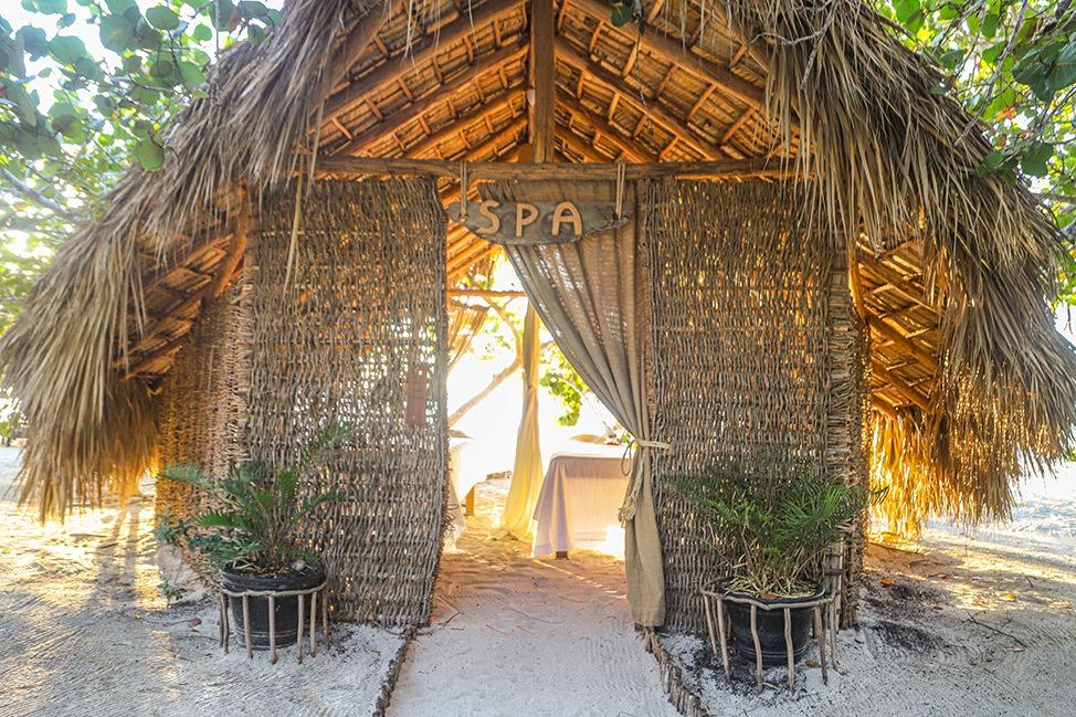 Spa at Punta Rucia Lodge in the Dominican Republic