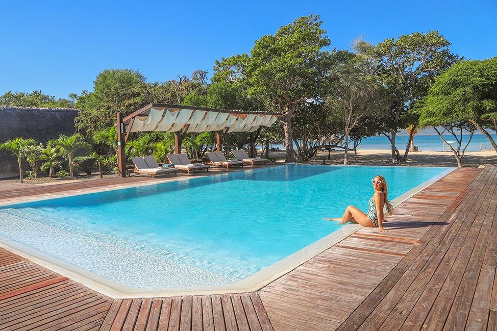Pool at Punta Rucia Lodge
