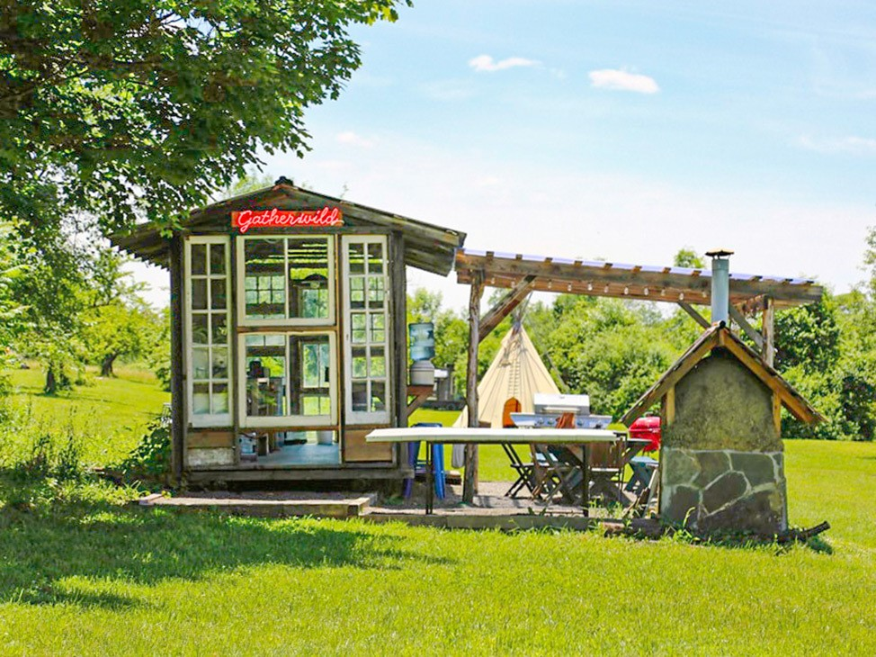 Wander Women Hudson Valley: adorable glamping location upstate New York