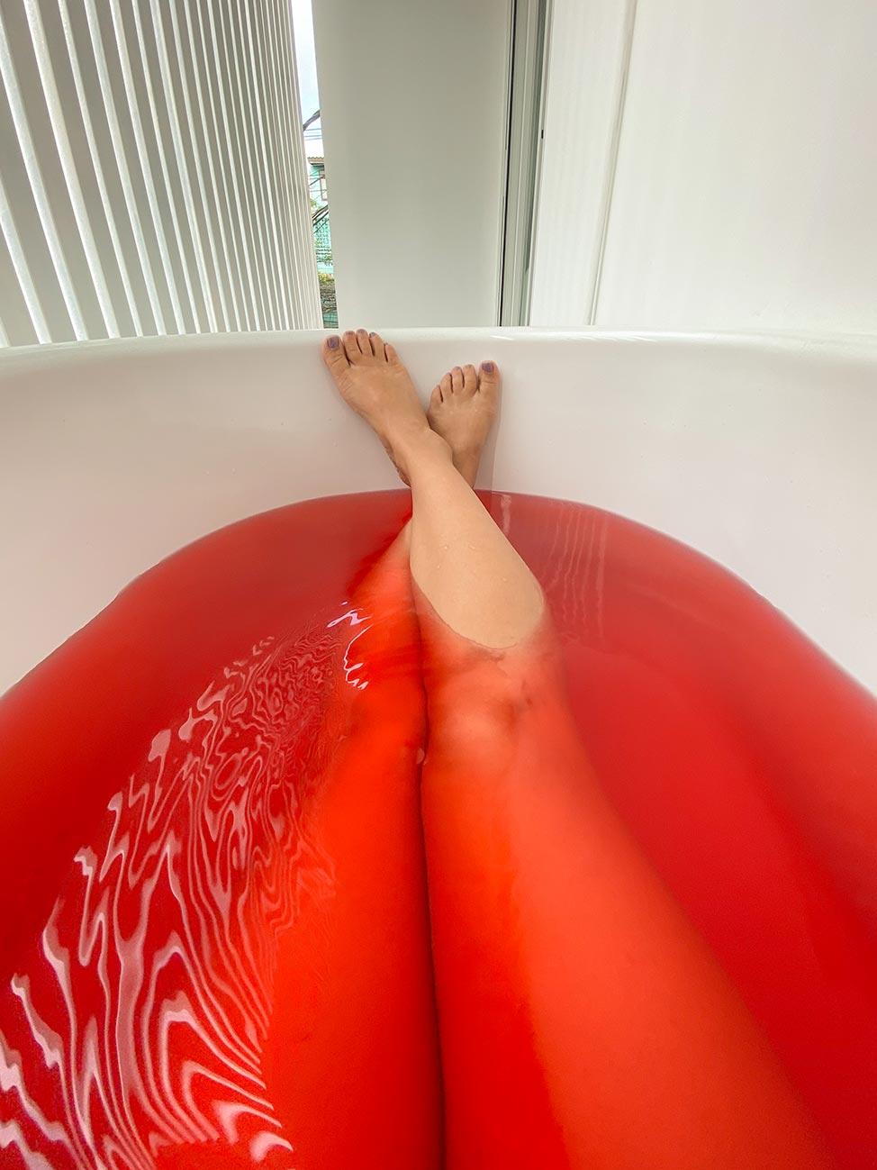 Bathtub in Bangkok