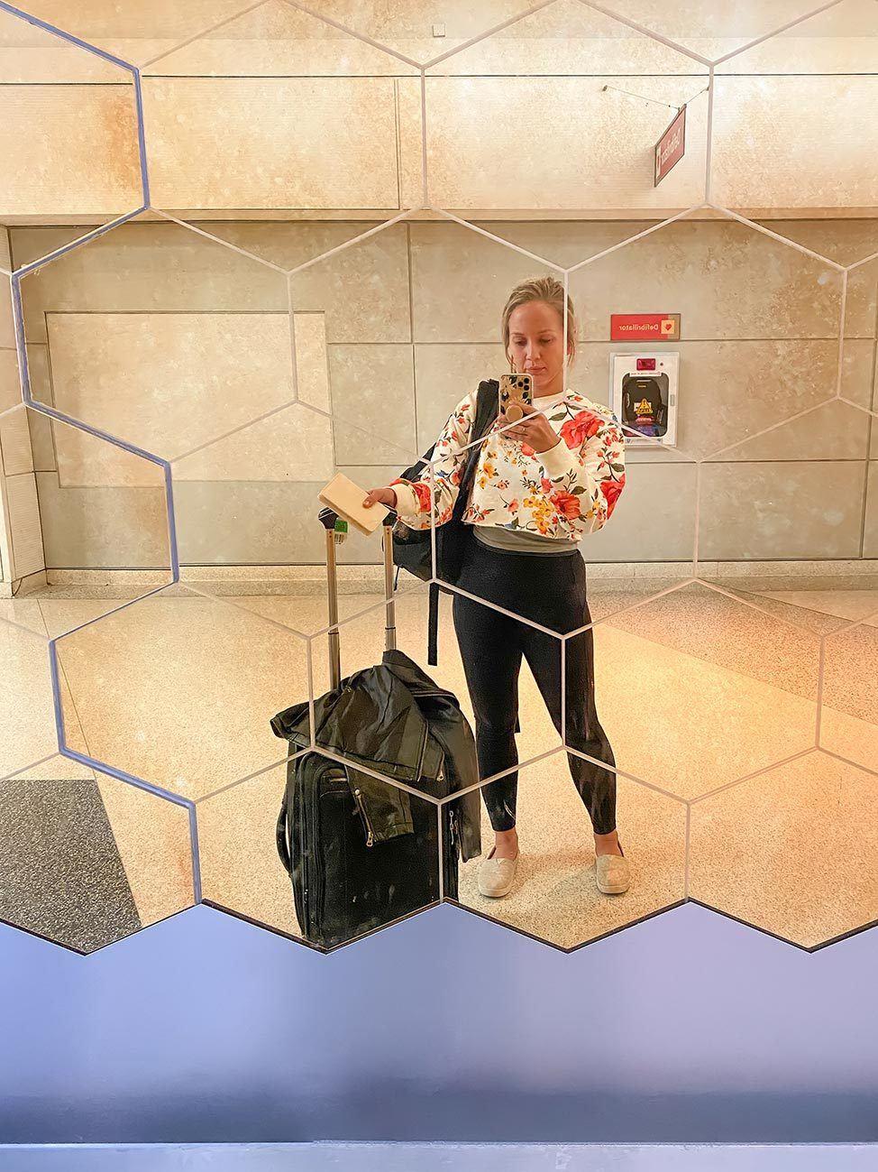 Flying to Tel Aviv