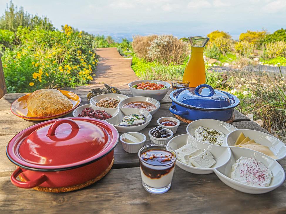 Breakfast at Lake Galilee