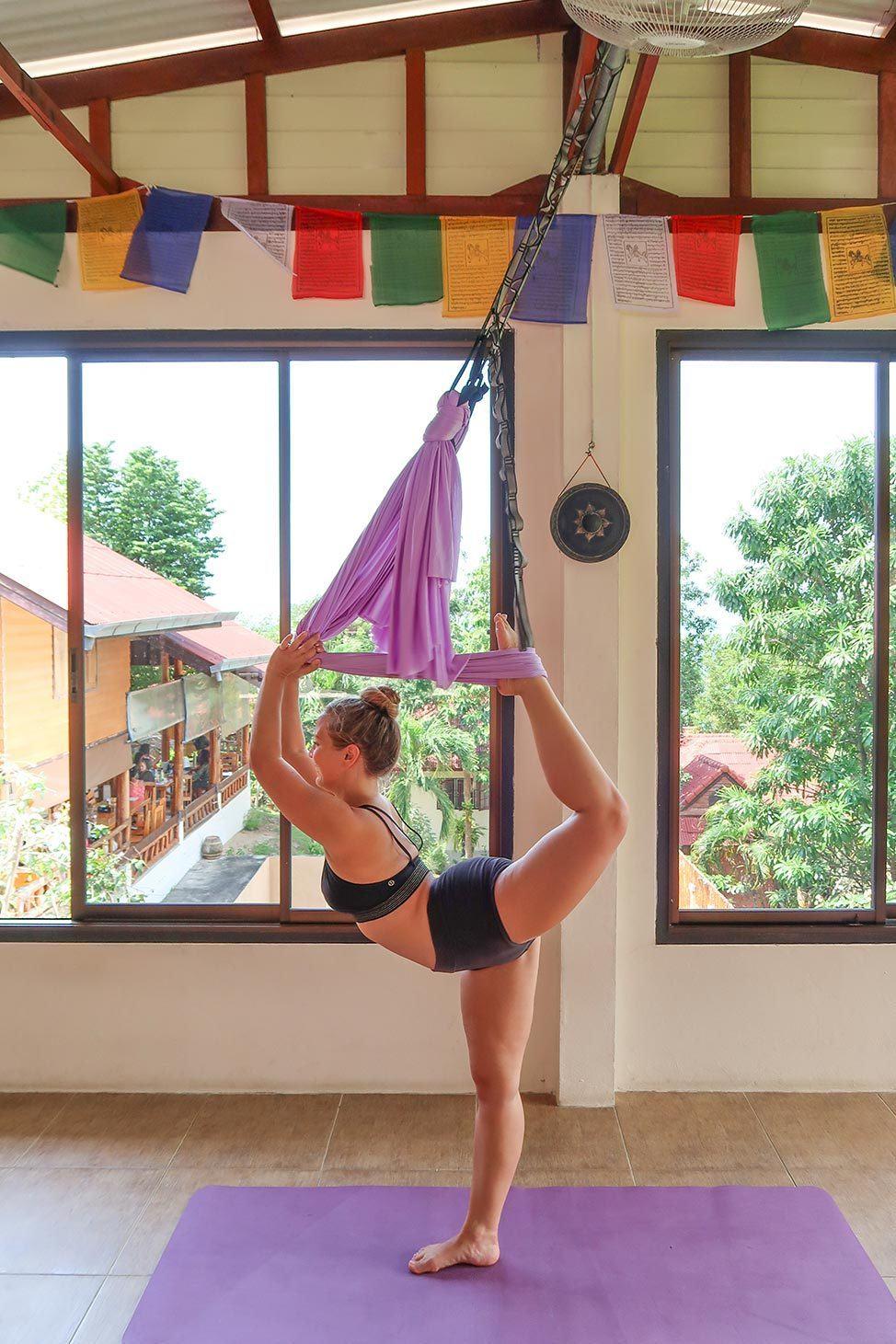 Ulu Aerial Yoga Teacher Training in Koh Phangan, Thailand