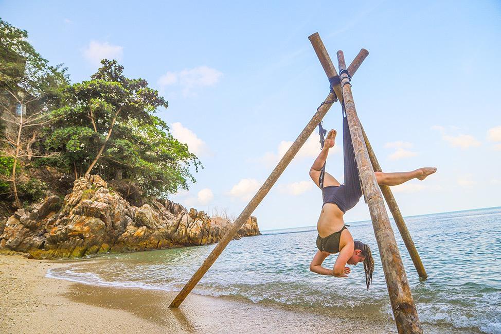 Ulu Yoga Teacher Training on the beach in Koh Phangan, Thailand