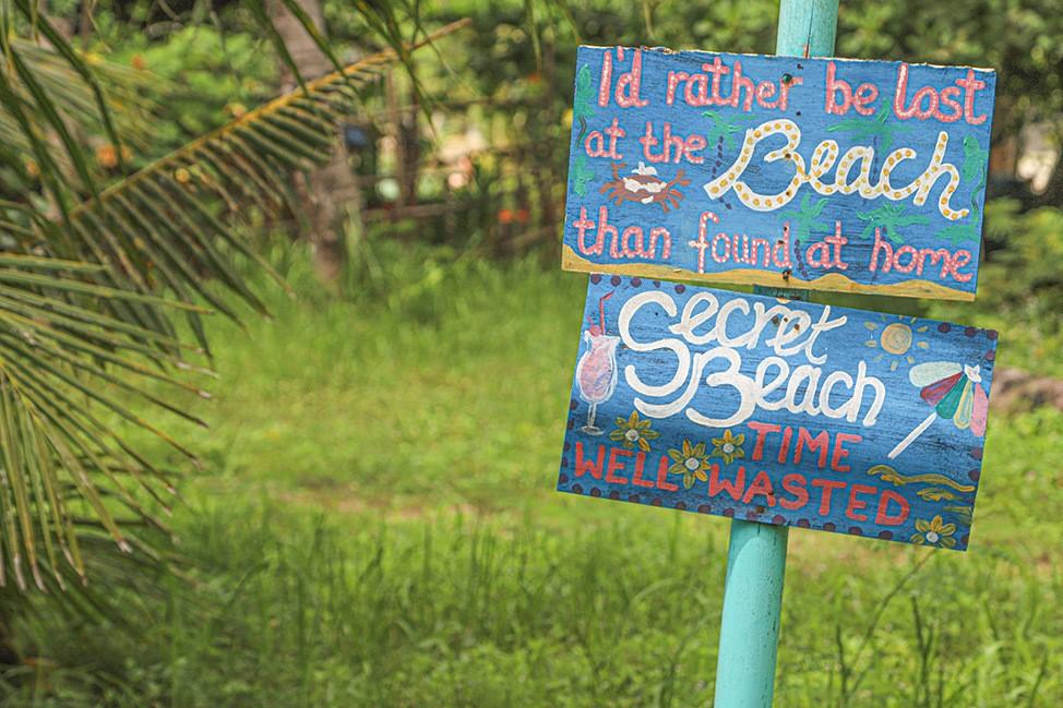 Secret Beach in Koh Phangan