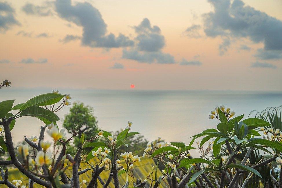 Sunset at Haven Resort, Haad Yao