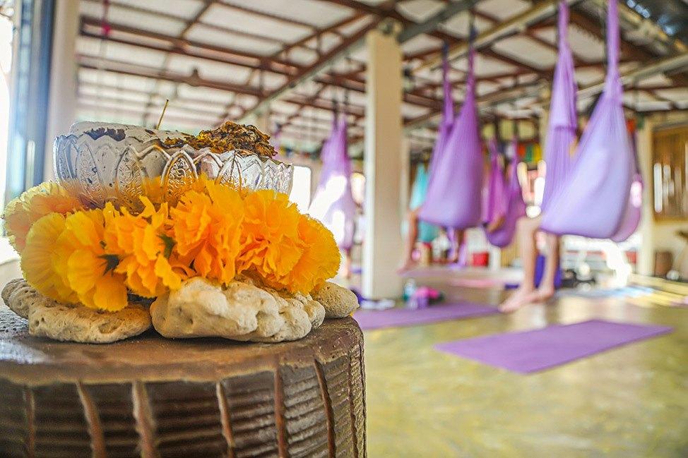 Ulu Yoga's 50-hour Aerial Yoga Teacher Training in Koh Phangan, Thailand