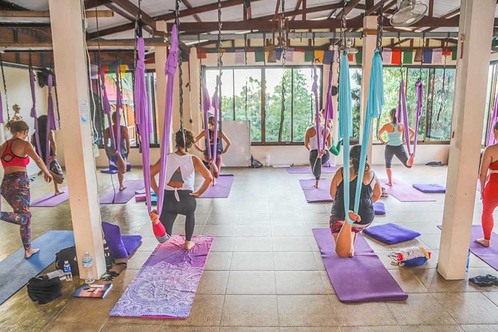 Skeleton Selfie | Ulu Yoga's 50-hour Aerial Yoga Teacher Training in Koh Phangan, Thailand