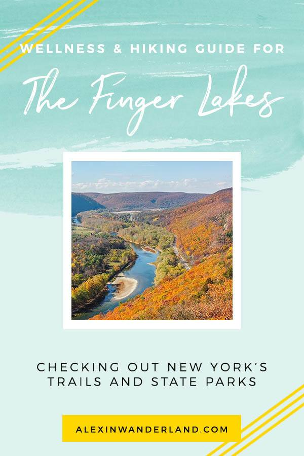 A wellness and hiking guide to the Finger Lakes in New York