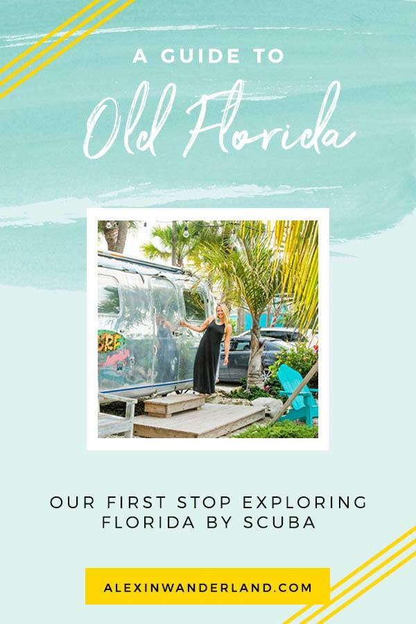 A Guide to Scuba Diving in Old Florida