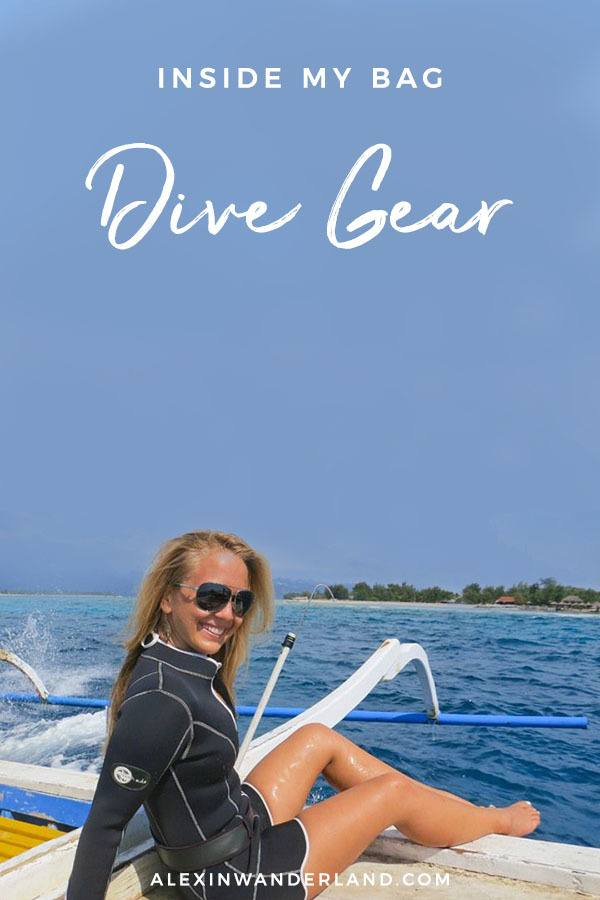 What to pack for divers | dive gear