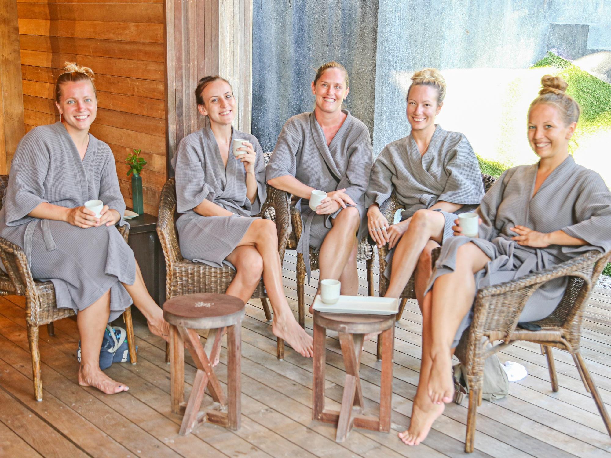 Spa and yoga retreat in the Maldives