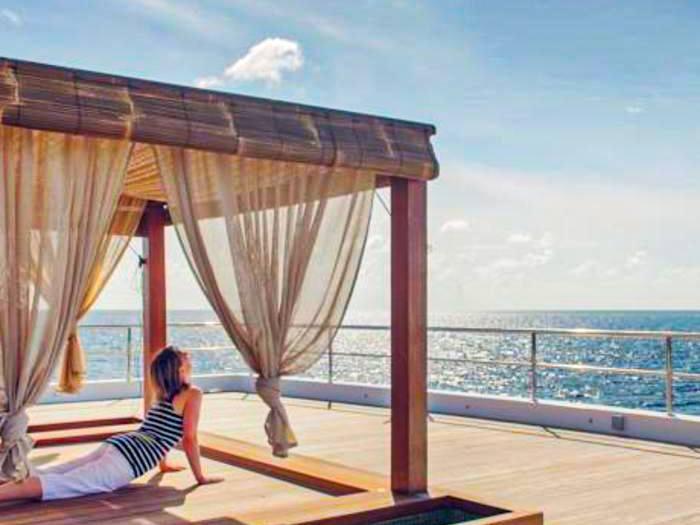 Maldives spa and yoga retreat